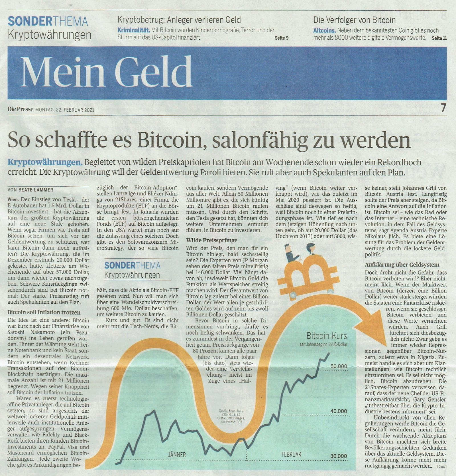 So schaffte es Bitcoin, salonfähig zu werden